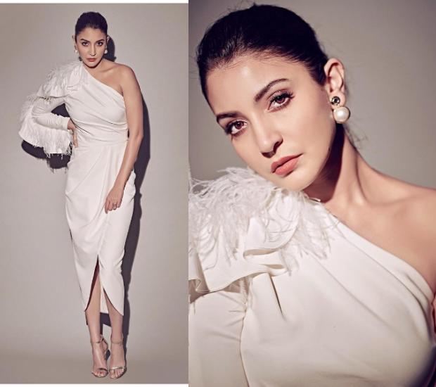 Best Dressed - Anushka Sharma in Gauri and Nainika dress for Zero promotions