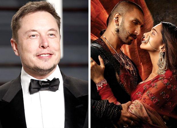 Billionaire entrepreneur Elon Musk hearts Ranveer Singh - Deepika Padukone's Bajirao Mastani, sends the fans into frenzy