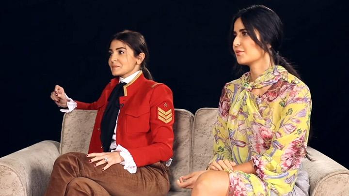 CRAZY: Katrina Kaif & Anushka Sharma Playing SRK QUIZ is a ...