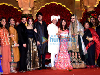 Celebs grace Chloe Ferns and Aslam Qureshi's wedding