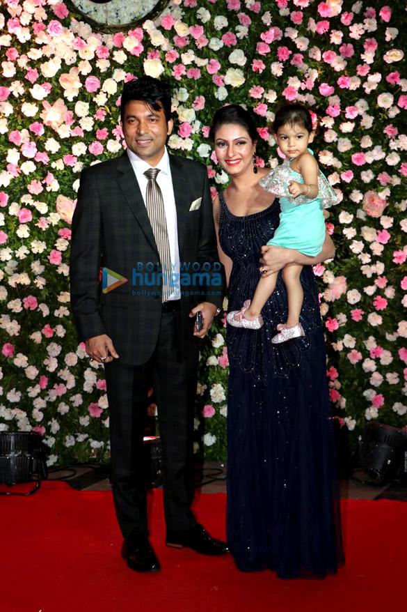 Celebs grace Kapil Sharma and Ginni Chatrath's wedding reception