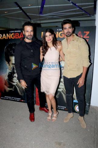 Celebs grace Rangbaaz screening at Sunny Super Sound in Juhu