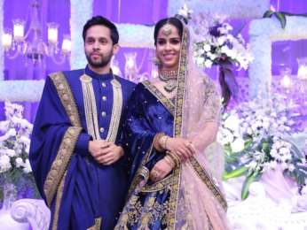Celebs grace Saina Nehwal's wedding reception