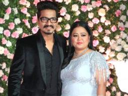 Comedian Bharti Singh with her Husband at Kapil Sharma Wedding Reception Mumbai