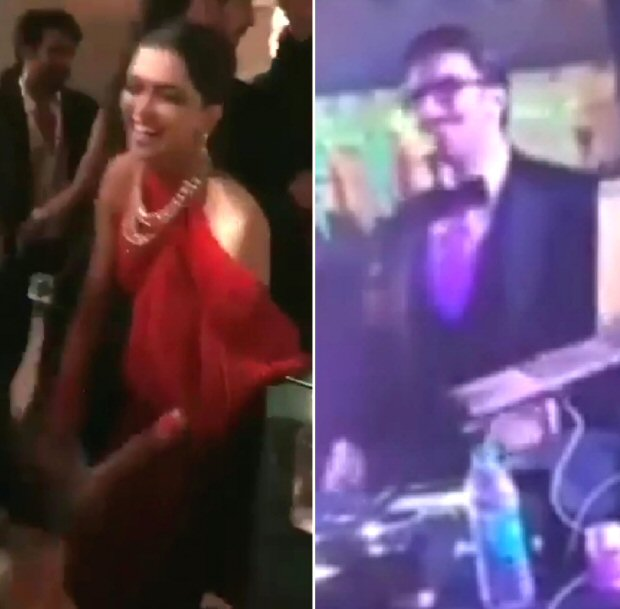 INSIDE VIDEOS Newlyweds Deepika Padukone - Ranveer Singh get groovy with Aishwarya Rai Bachchan, Sidharth Malhotra, Karisma Kapoor at Isha Ambani - Anand Parimal bash