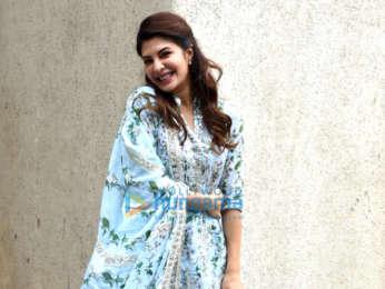 Jacqueline Fernandez snapped in Mumbai