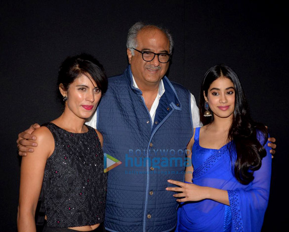 Janhvi Kapoor and Boney Kapoor snapped during felicitation at Royal Consulate of Norway (2)