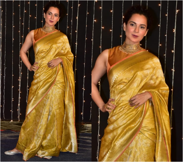 Kangana Ranaut at Priyanka Chopra - Nick Jonas Wedding Reception