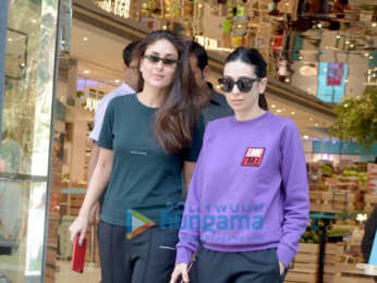 Kareena Kapoor Khan, Karisma Kapoor and Taimur Ali Khan snapped in Bandra
