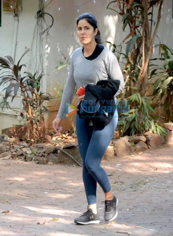 Katrina Kaif snapped after dance rehearsals in Bandra