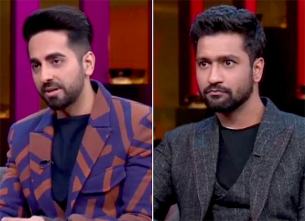 Koffee With Karan 6 Ayushmann Khurrana reveals donating sperm just like Vicky Donor, Vicky Kaushal has priceless reaction on hearing Katrina Kaif's compliment
