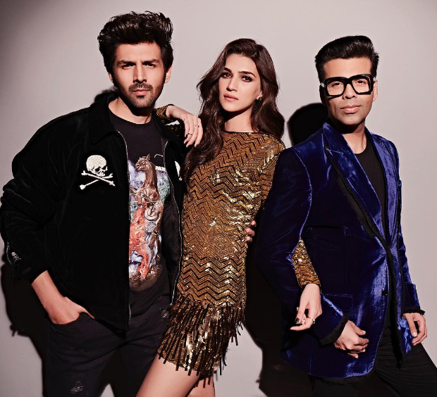 Kriti Sanon in Falguni and Shane Peacock for Koffee With Karan 6 (4)