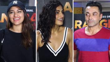 Kubra Sait, Sonakshi Sinha and others at Screening of Web-Series Rangbaaz