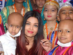 MUST WATCH Aishwarya Rai Bachchan Dancing with cancer affected kids