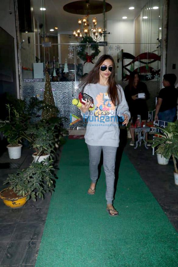 Malaika Arora snapped at Muah in Bandra