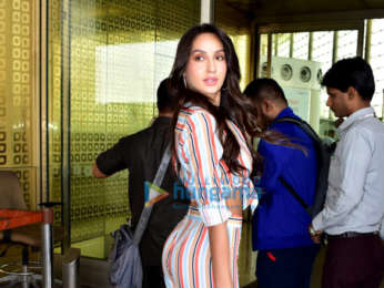 Nora Fatehi, Kriti Kharbanda and Gulshan Grover snapped at the airport