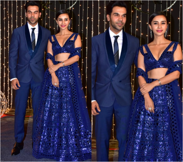 Rajkummar Rao and Patralekhaa at Priyanka Chopra - Nick Jonas Wedding Reception