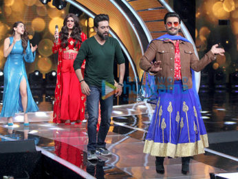 Ranveer Singh dances in Heels and Ghagra on Sa Re Ga Ma Pa for 'Simmba' promotions