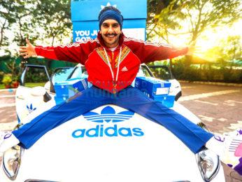 Ranveer Singh snapped for Adidas shoot at Yash Raj studios