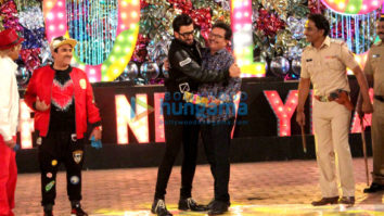 Ranveer Singh snapped on the sets of Tarak Mehta Ka Ooltaah Chashmah