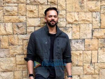 Rohit Shetty snapped during Simmba interviews at JW Marriott in Juhu