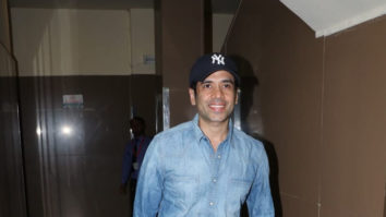 SPOTTED Tusshar Kapoor at PVR Juhu to watch Simmba