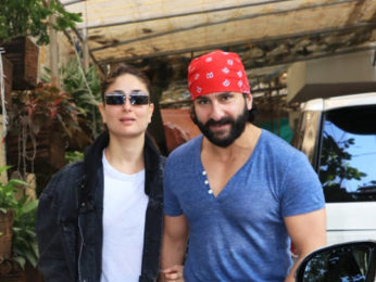 Saif Ali Khan at screening of Daughter Sara Ali Khan's Debut film Kedarnath Kareena Kapoor Khan