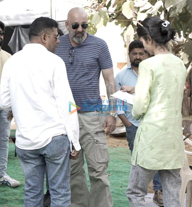 Sanjay Dutt stars shoot for Ranbir Kapoor starrer Shamshera