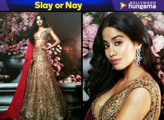 Slay or Nay - Janhvi Kapoor in Manish Malhotra