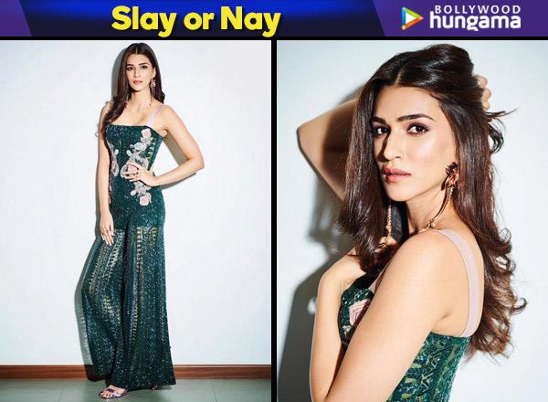 Slay or Nay: Kriti Sanon in a Rs. 1,89,999 Monisha Jaising