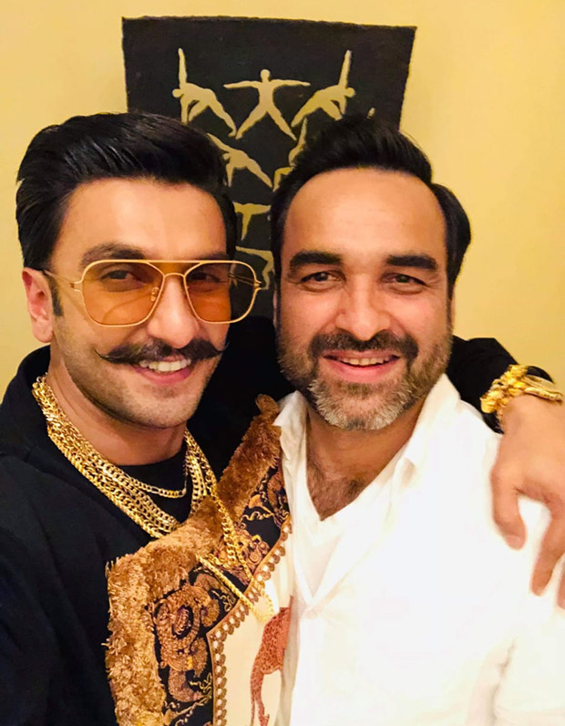 These pictures prove Ranveer Singh and Pankaj Tripathi share mutual fondness for each other