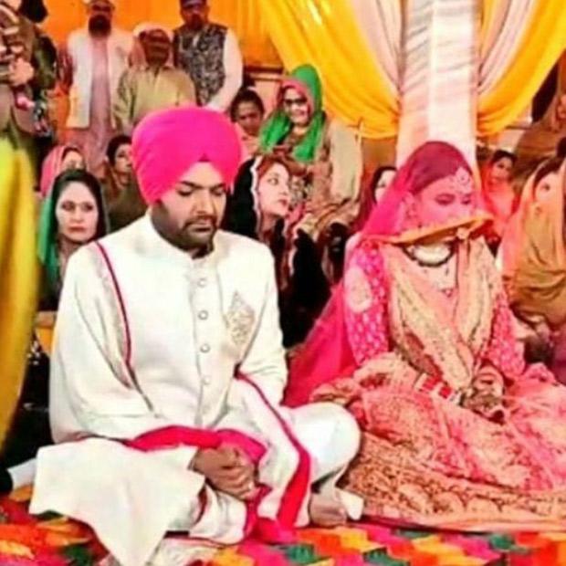 UNSEEN WEDDING PICS Kapil Sharma and Ginni Chatrath's wedding looks every bit of a folk fairytale