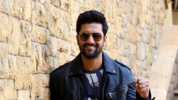 Vicky Kaushal snapped during Uri interviews at JW Marriott in Juhu