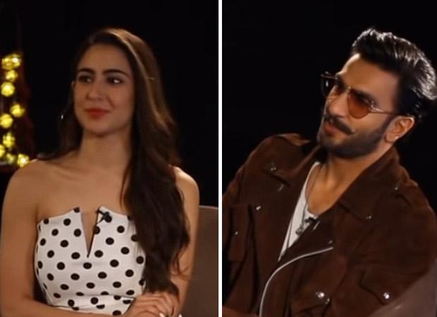 WATCH: Ranveer Singh hilariously mocks Sara Ali Khan's singing on 'Aankh Marey'; calls her 'Nightingale of JVPD scheme'