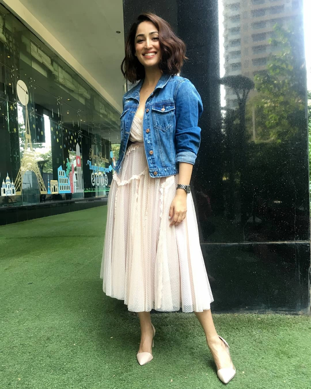 Yami Gautam in Needle and Thread for Uri promotions (1)