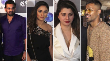Zaheer Khan, Hardik Pandya, Krystle D'Souza & others at Restaurant Launch