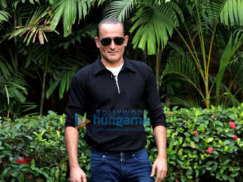 Akshay Khanna snapped promoting The Accidental Prime Minister at JW Marriott Juhu