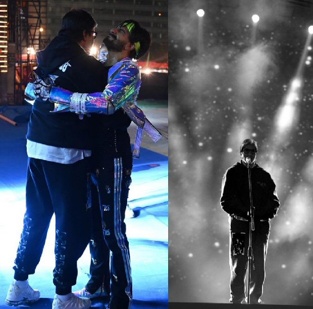 Amitabh Bachchan met Ranveer Singh during the rehearsals for Umang 2019, and the picture will leave you gushing!
