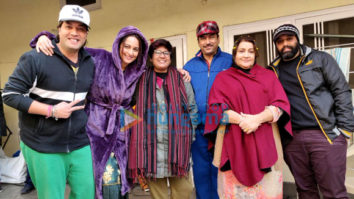 On The Sets Of The Movie Bhushan Kumar & Sonakshi Sinha's Next