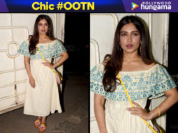 Chic OOTN - Bhumi Pednekar in Global Desi (Featured)