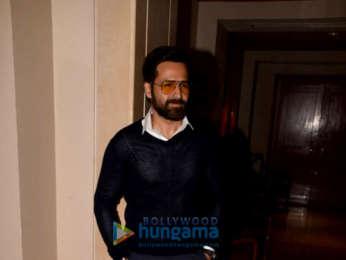 Emraan Hashmi and Aditya Thackeray grace the Cheat India press meet