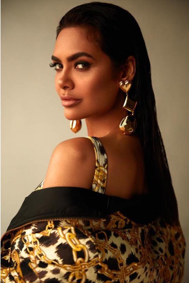 Esha Gupta in H&M x Moschino swimsuit and dress (3)