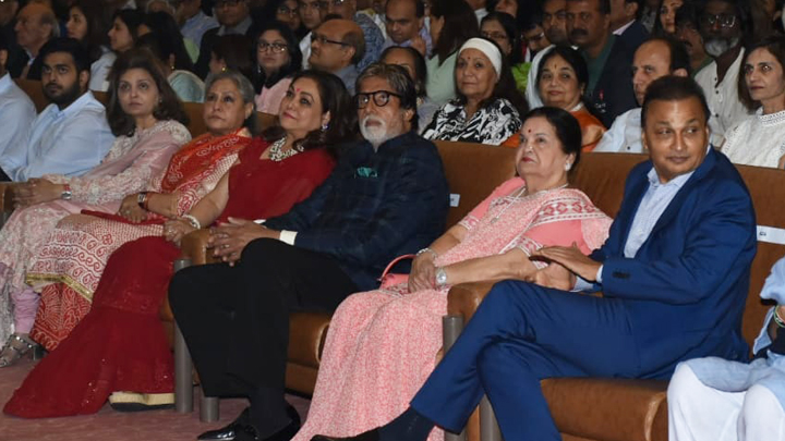 FULL;Anil Ambani, Tina Ambani, Amitabh Bachchan at Kokilaben Ambani Hospital's Decade Of Distinction