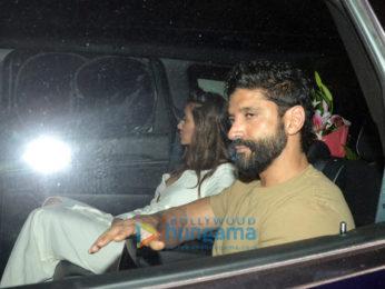 Celebs snapped at Farhan Akhtar's birthday bash at Zoya Akhtar's residence