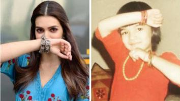THROWBACK: Kriti Sanon used to love playing Luka Chuppi during her childhood