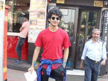 Ishaan Khatter snapped at Bastian