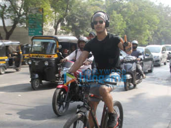 Ishaan Khatter spotted in Juhu