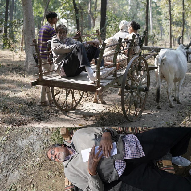 JHUND: Amitabh Bachchan takes a bullock cart ride after a long time and here's what he has to say about it