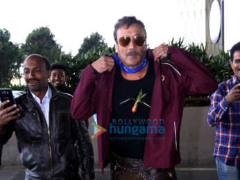 Jackie Shroff and Karishma Tanna snapped at the airport