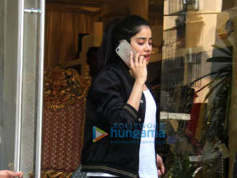 Janhvi Kapoor spotted at Abu Sandeep's store in Bandra